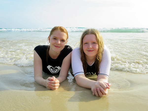 the girls in Phuket