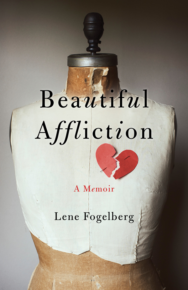 BEAUTIFUL AFFLICTION front cover